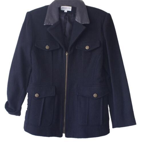 femme Cole pour similicuir glissière similicuir taille à noir noir m Collier en manteau Jordan en HCwqqP