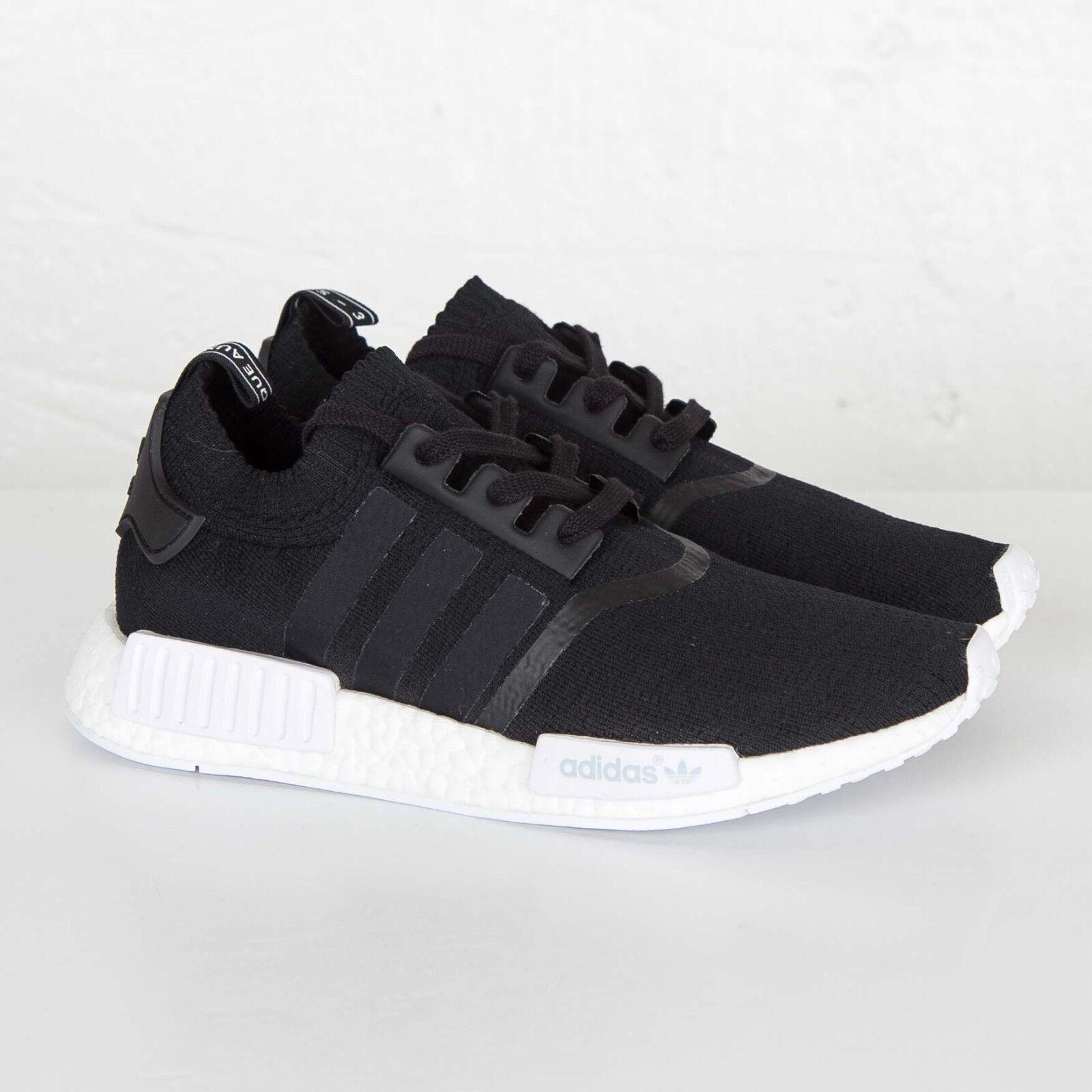 Adidas NMD R1 PK White Black White PK OG Monochrome Size 14. BA8629 yeezy ultra boost 23875e