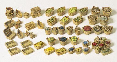 légumes paniers Preiser 17502 h0 Kit NEUF en Vrac fruits