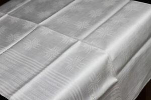 Rustic-Linen-Table-Cloth-166-113-cm-by-1890-Antique-linentabelcloth