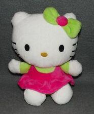 Hello Kitty 22cm Sanrio Pinkes Kleid Plüschtier Plüsch Kuscheltier Stofftier g