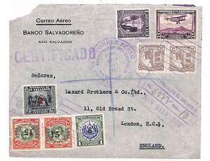Glorieux Gg233 1934 El Salvador Londres Gb Cover {samwells Couvre -} Pts-rs}ptsfr-fr Afficher Le Titre D'origine