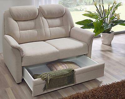 Dietsch Kiel 2Sitzer 2 Sitzer Zweisitzer kleines Sofa mit Stauraum  individuell | eBay