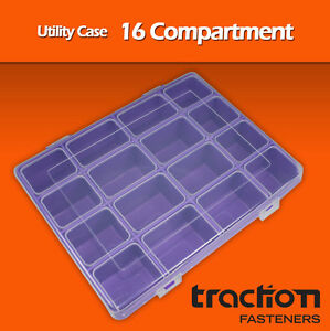 Compartment-Utility-Box-Case-Tackle-Storage-Hobby-Parts-Strong-5-pack