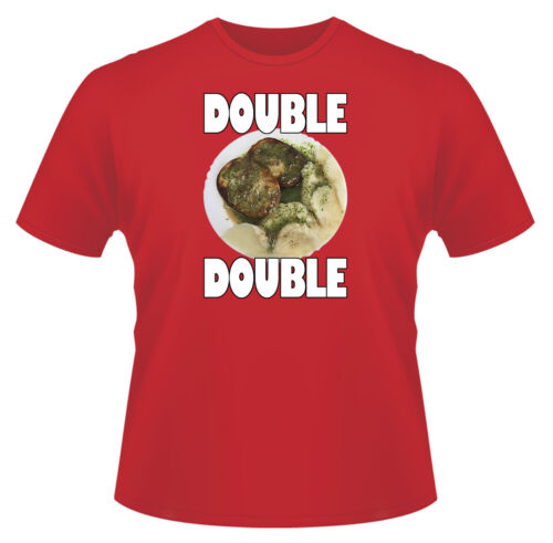Mens T-Shirt Ideal Gift or Present Double Pie /& Mash