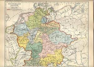 Mappa degli aeroporti in Germania.