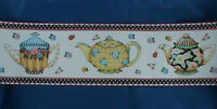 Mary Engelbreit Teapots Decorative Wall Border Pre Pasted Washable Strippable