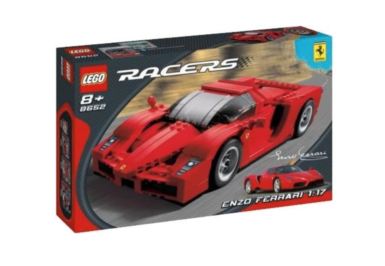 Lego racers  enzo ferrari 1 17 scale (8652)