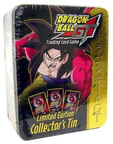 1x  Goku Dragon Ball GT Score Collector/'s Tin New Sealed Product