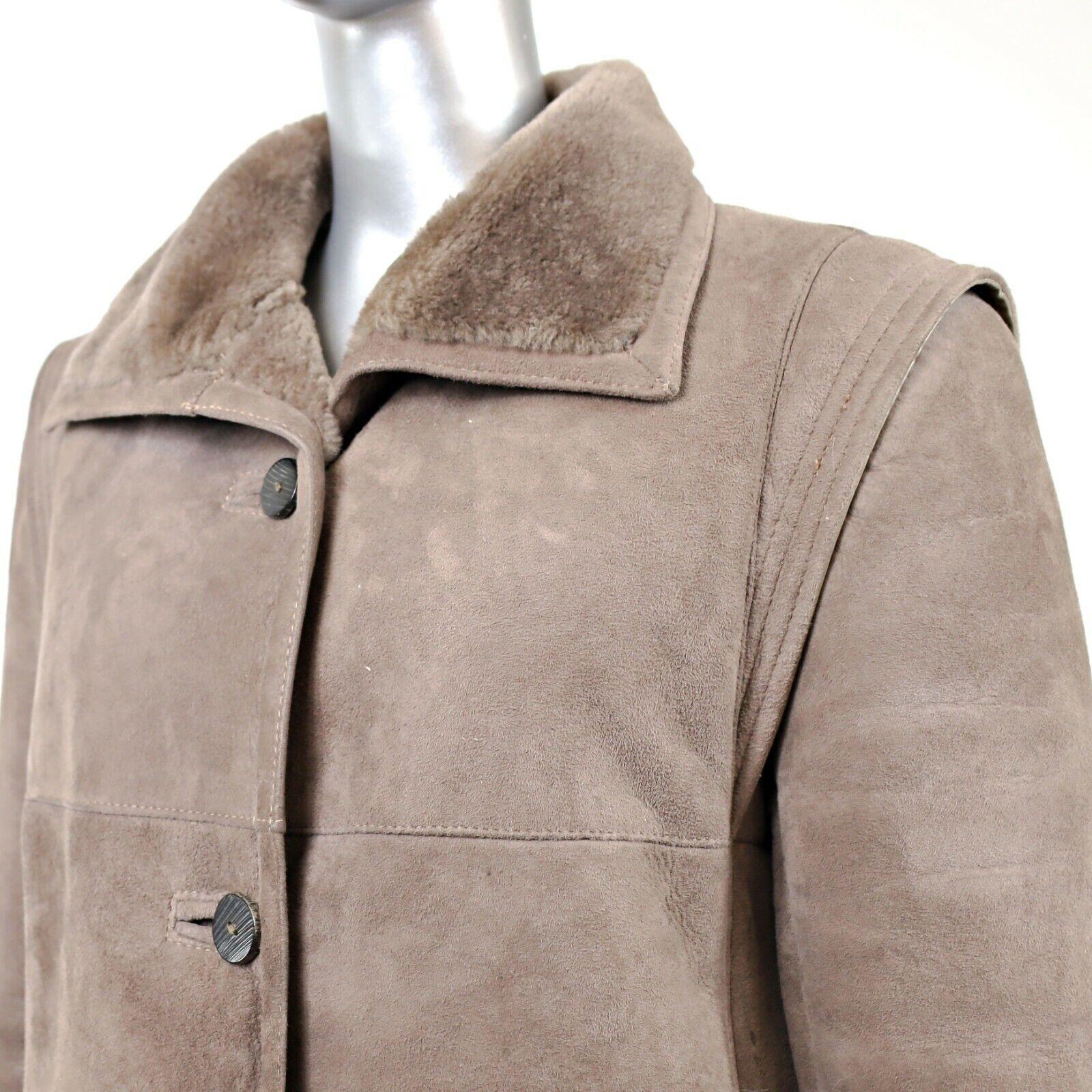 Full Length Shearling Coat- Size M-L (Vintage Fur… - image 6