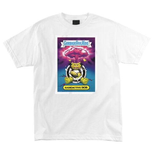 Santa Cruz Skateboards x Garbage Pail Kids Radioactive Rob Roskopp T-Shirt White