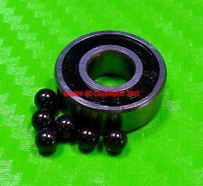 [QTY 2] (5x16x5 mm) 625-2RS HYBRID CERAMIC Si3N4 Ball Bearing Bearings 625RS