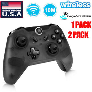 US Wireless Pro Controller Gamepad Joypad Remote for Nintendo Switch Console dis