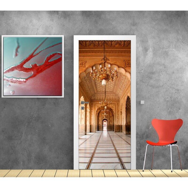 Poster Poster Porta Decocrazione Palazzo 807 Art Déco Adesivi