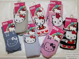 Chaussons-chaussettes-enfants-filles-Hello-Kitty-anti-derapante