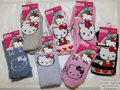 Modesto Chaussons Chaussettes Enfants Filles Hello Kitty Anti-dérapante Rinvigorire Efficacemente La Salute