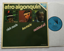 Rick ROZIE-Lee ROZIE-Rashied ALI Afro algonquin GERMANY LP MOERS Music-free jazz