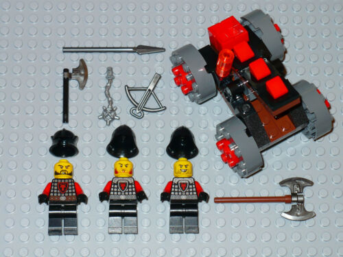 NEW LEGO Minifigure Castle Red dragon soldier army figure siege catapult 70402