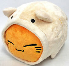 FuRyu Nemuneko Cosplay Fluffy Neko Cat Big Cushion Plush AMU7344 ~ Light Beige