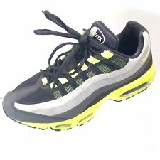 super popular 8cb8e a512e 2013 Men s Nike Air Max 95 No Sew Black Volt Lime Green 616190-070 Size