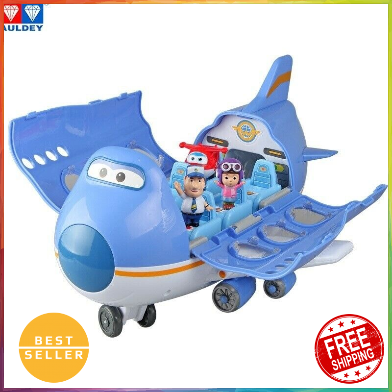 Big Wing Aircraft scene series Super Wings High Quality Original Deformation Toy
