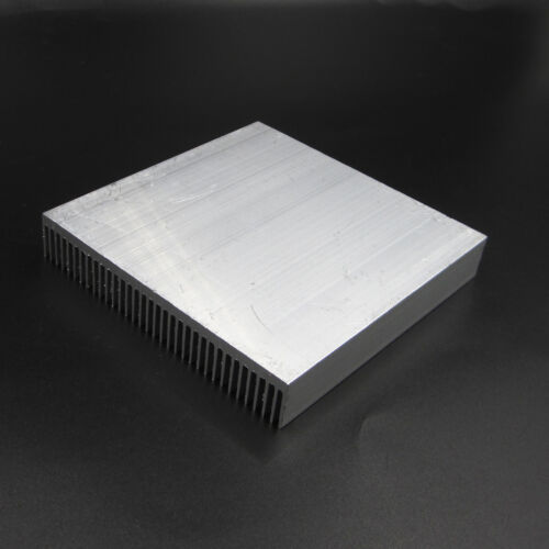 LED Power IC Transistor DC Konverter Aluminum Heat Sink 90x90x15mm AIP