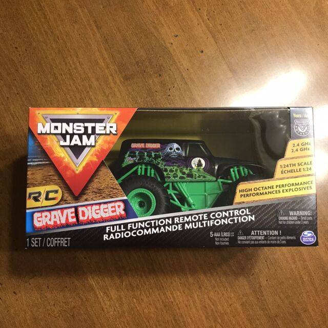 Monster Jam Grave Digger 1 24 Scale 2.4 GHz Electric R/c ...