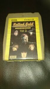 Vintage-8-Track-Cassette-Cartridge-Eight-rolling-Stones-rolled-gold-volume-2