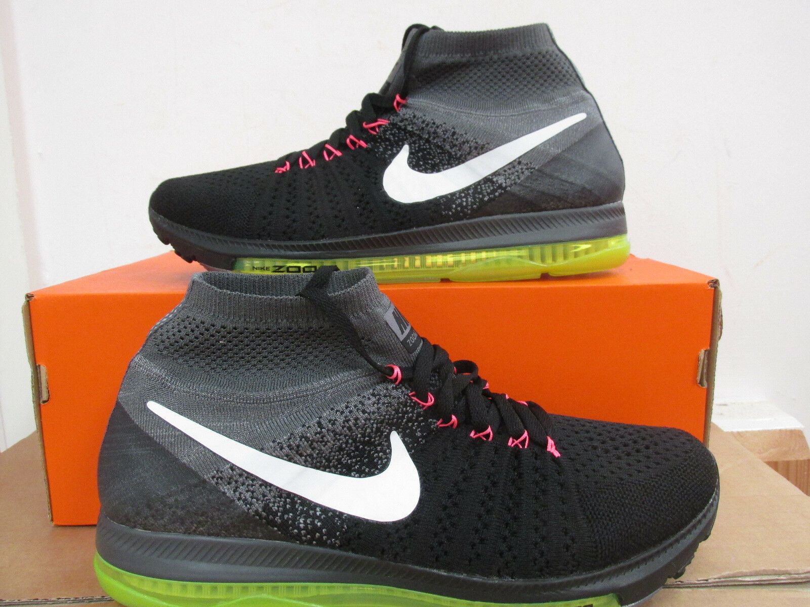 Nike Zoom All Out Flyknit homme fonctionnement Trainers 844134 002 Sneakers CLEARANCE