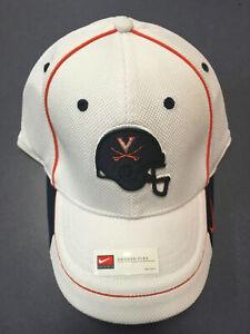 K) University of Virginia UVA Cavaliers Nike Football Blue Helmet Small Hat