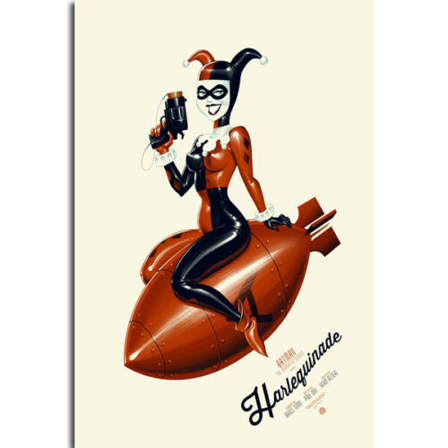G309 Harley Quinn The Animated Series Hot Comics Art Poster