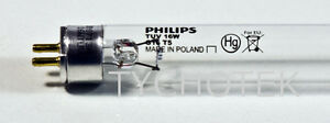 Lamp-ultraviolet-germicidal-Philips-16-Watt-240V-TUV-G16-T5-UV-4-pin-steriliser