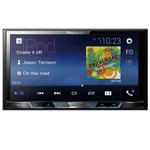 "Pioneer MVH-300EX Double 2 DIN MP3/WMA Digital Media Player 7"" LCD Bluetooth"