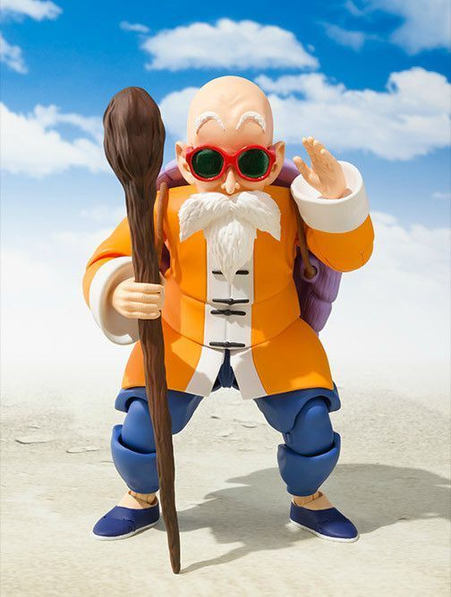 S.H.Figuarts Dragon Ball KAME-SENNIN (Master Roshi) Action Figure BANDAI NEW