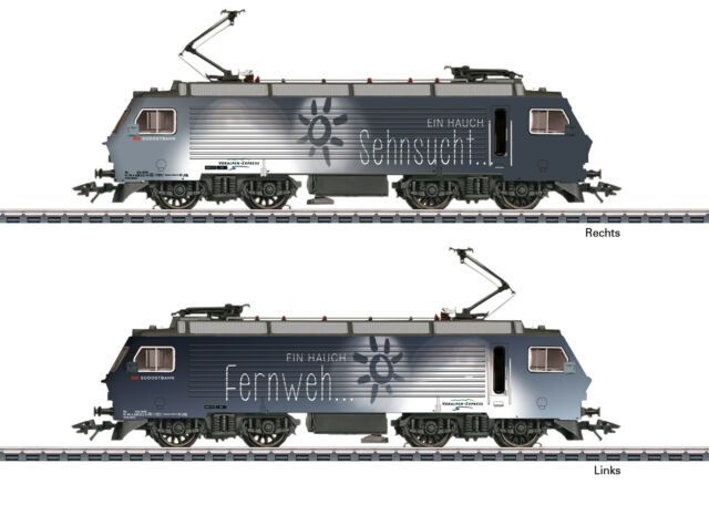 Märklin 37301 Locomotive Électrique Re 4/4 IV de Sob Mfx + Son Métal #