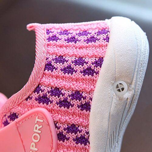 Toddler Children Kids Baby Boy GIrls Squeaky Single Soft Shoes Sneaker Prewalker
