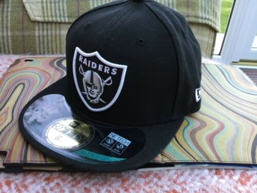 NFL Oakland Raiders fitted cap various sizes see description Bnwt