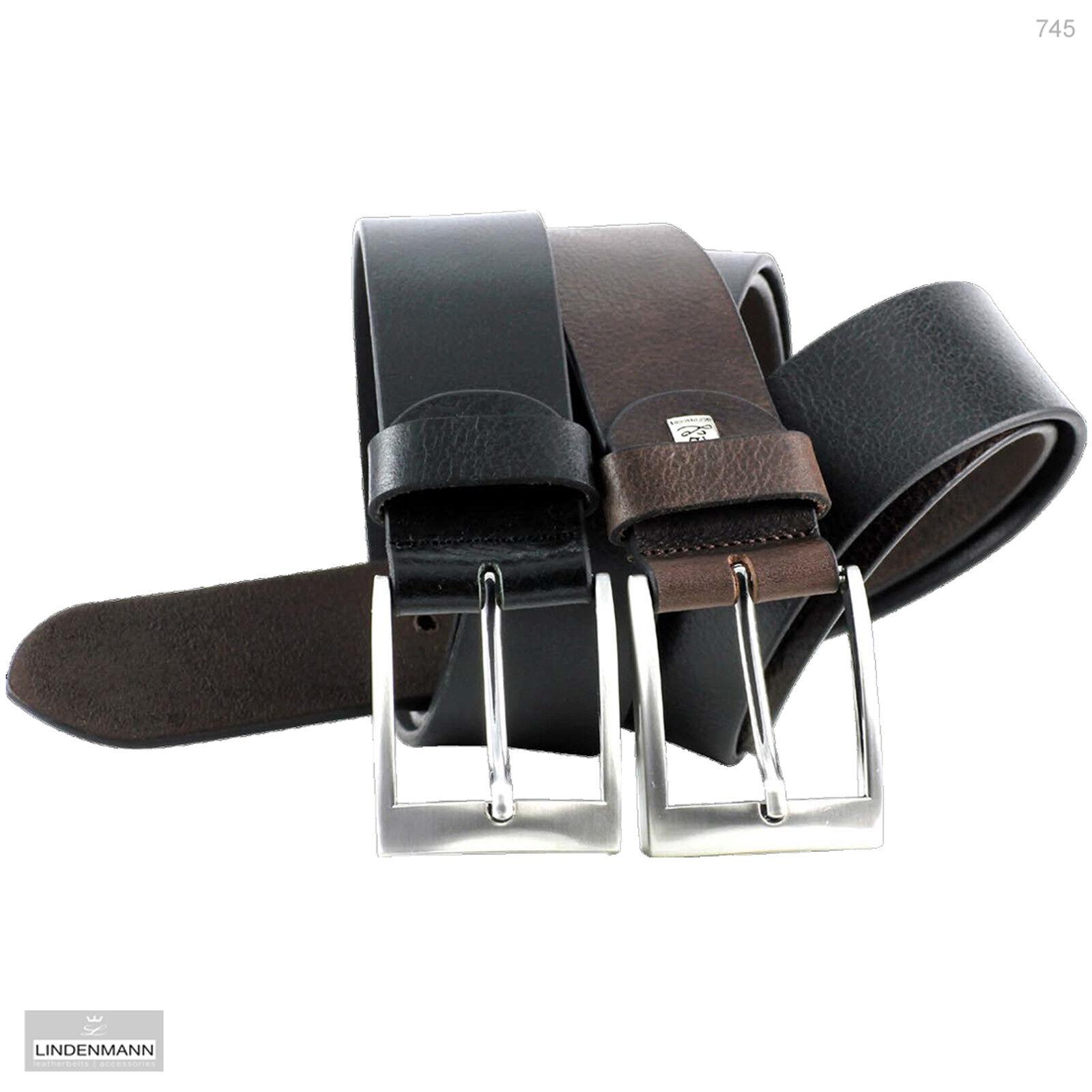 LINDENMANN XXL Vollrindledergürtel bis 150 cm Bundweite Bundweite Bundweite Überlänge Übergröße 745 | Verschiedene Stile  a476ed