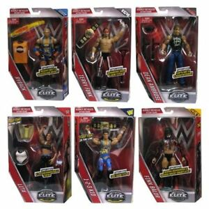 WWE-COMPLETO-SET-DE-6-LOTE-41-Elite-Accesorios-SERIE-FIGURA-DE-LUCHA-MATTEL