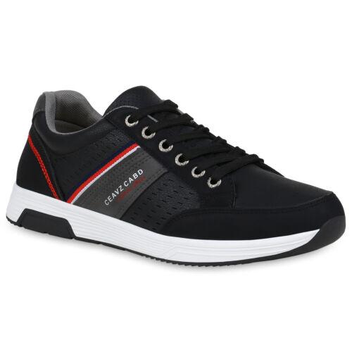 Herren Laufschuhe Prints Fitness Sneaker Sportschuhe Schnürer 899092 Top
