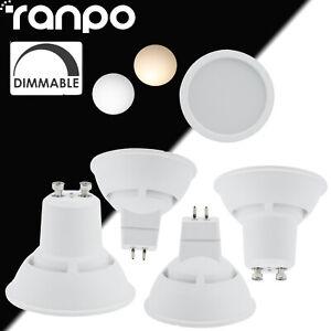 LED Spot Lumières Dimmable GU10 MR16 7W Ampoule AC220V Pour Maison Bureau Hôtel