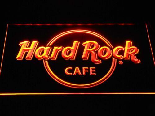 Hard Rock Cafe Leuchtreklame Neonzeichen Leuchtschild Leuchte Lampe LED Bar Pub