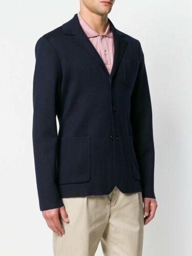 Blazer € a Mantel 46 italiana Prada lana lavorato maglia Jacke di Lana 1170 Sakko Giacca t6HxHw