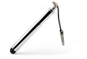 Pantalla-Ajustable-Pen-Stylus-Para-Sony-Xperia-X-xa-XA1-Xz-Z5-compacto-de-plata-brillante