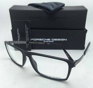 9d85a7b6435b4 New PORSCHE DESIGN Titanium Eyeglasses P 8259 A 57-15 140 Matte ...