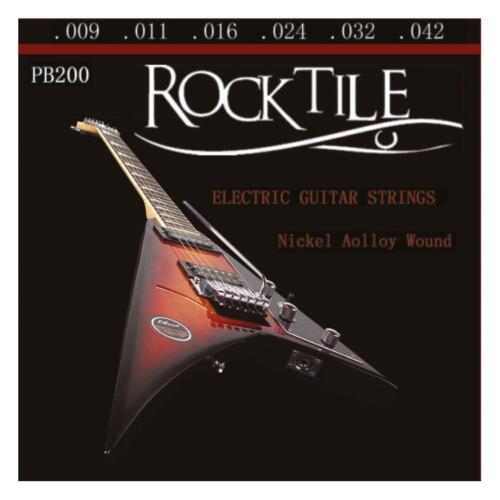 Supertoller Rocktile E-Gitarren Saiten Satz 009 .042 .011 .024 .032 .016