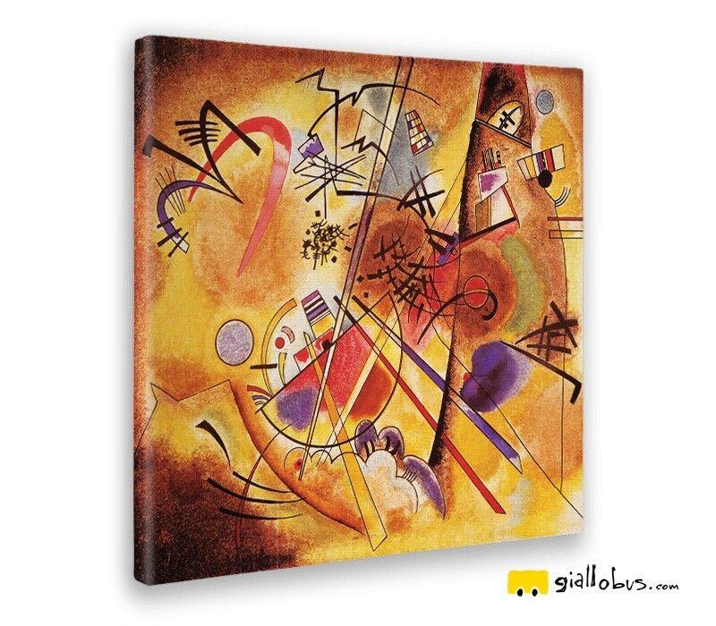 Quadro - Wassily Kandinsky - Paesaggio astratto - Stampa fine Kunst – Pronto da ap