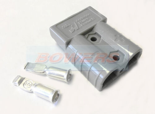 GREY ANDERSON PLUG SB320 HOUSING CONTACTS CABLE HIGH CURRENT CONNECTOR BATTERY
