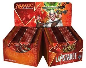 Unstable Booster Box - 36 Sealed English Packs - Magic the Gathering Cards