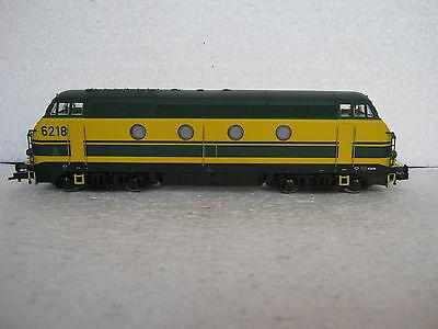 Digital Roco HO/DC 62772 Diesel Lok BR 6218 SNCB (RG/CN/151-81S7/3)